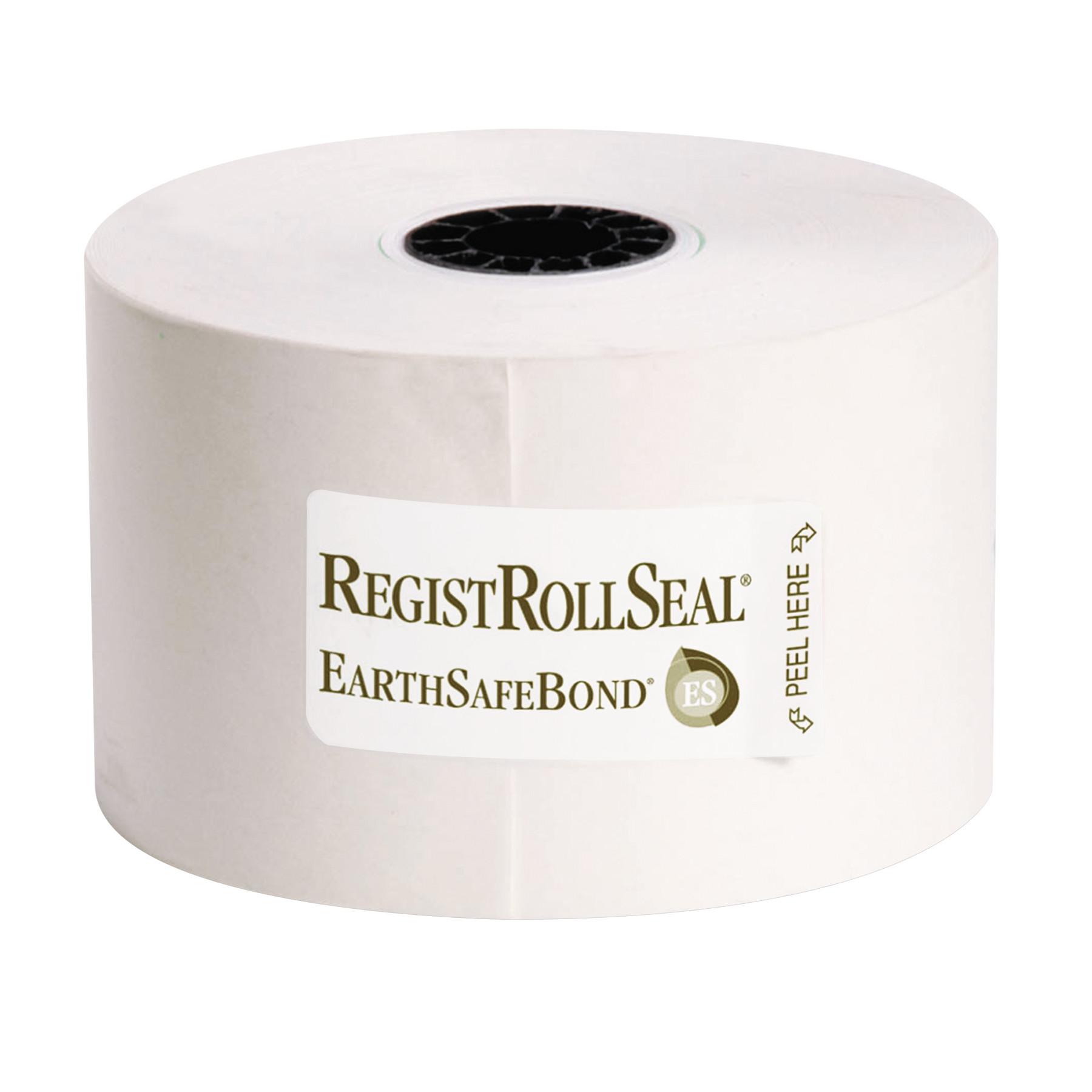 RegistRolls Point-of-Sale Rolls, 44mm x 165', White, 50/Carton