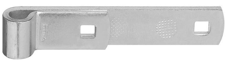 STRAP HINGE STEEL 6IN ZNC PLTD