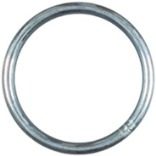 RING ZINC PLATED NO4X1-1/4IN