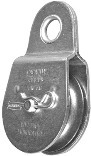 PULLEY ZINC PLATED 1-1/2IN