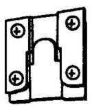 HANGER ZN PLT 1-3/4X1-1/2IN
