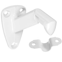 BRACKET HANDRAIL WHITE