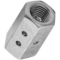 Stanley 347195 Coupling Nut, 7/8-9, Steel, Zinc Plated