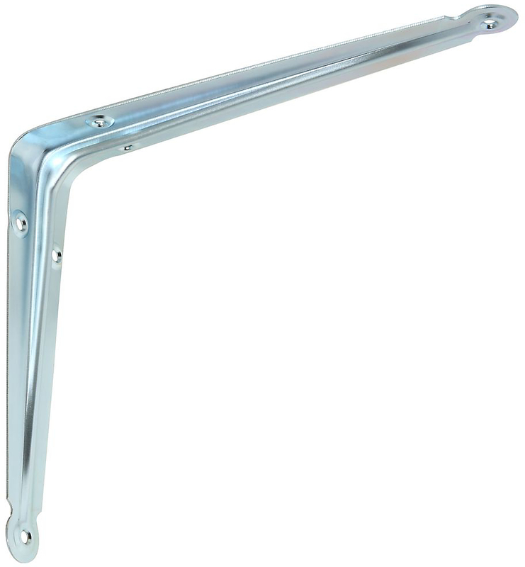 110Bc 8X10 Zinc Shelf Bracket