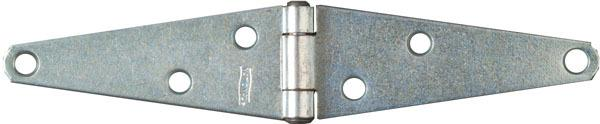 282Bc 4 In. Zinc Heavy Strap Hinge
