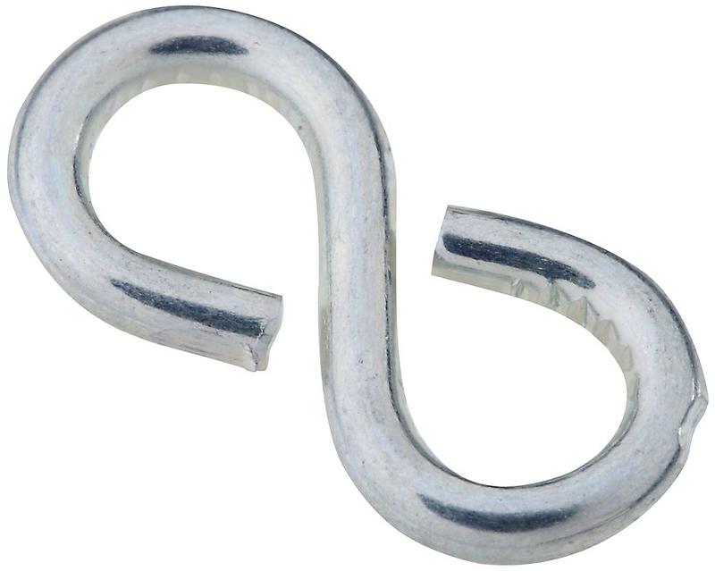 V2072 #813 Zinc Closed S Hooks
