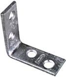 115Bc 3X3/4 Zinc Corner Brace