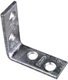 115Bc 6X1-1/8 Zinc Corner Brace
