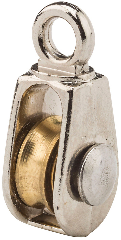 3203BC 1/2 IN. NICKEL FIXED SINGLE PULLEY
