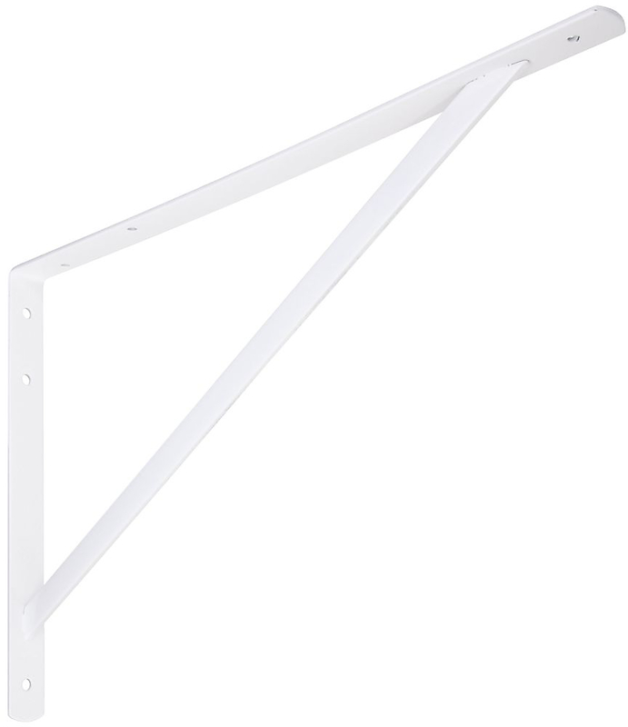 111BC 20 IN. WHITE SHELF BRACKET
