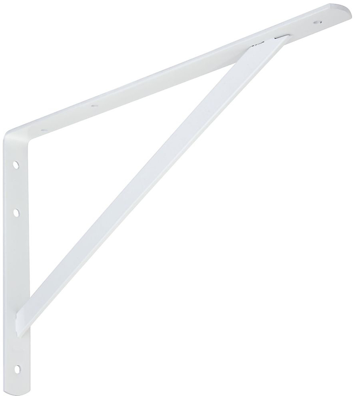 111BC 16 IN. WHITE SHELF BRACKET