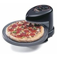 National Presto 03430 Rotating Pizza Oven, 1235 W, 120 VAC, Black