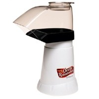Presto 04821 Hot Air Popcorn Popper, 1440 W, 120 V, 4 oz, White
