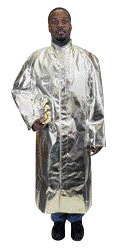 """National Safety Apparel� 3X 30"""" 16 Ounce Alumnized Acrysil Jacket With Snap Front And Cuff"""