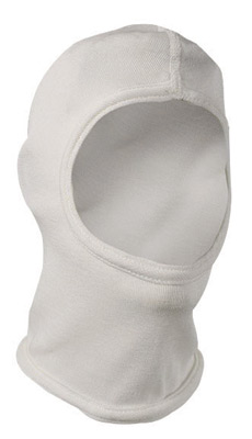 National Safety Apparel� White 6 Ounce PBI� Rayon Flame Resistant Hood