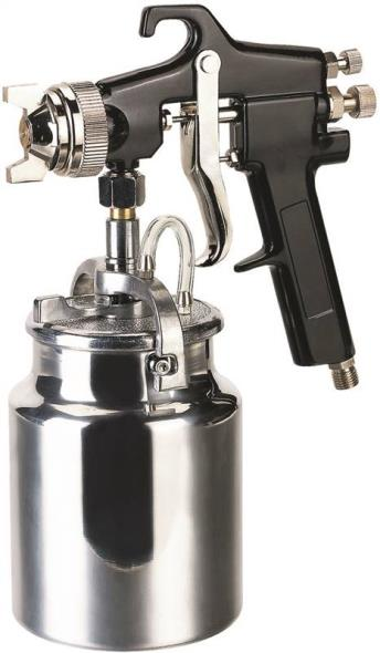 Speedway 50180 Spray Gun, 32 oz, 50 - 70 psi, 6 cfm, Metal