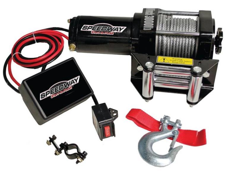 WINCH ELECTRIC 3000LB CAPACITY