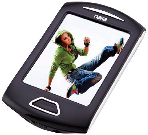 "NAXA NMV179SL 8GB 2.8"" Touchscreen Portable Media Players (Silver)"