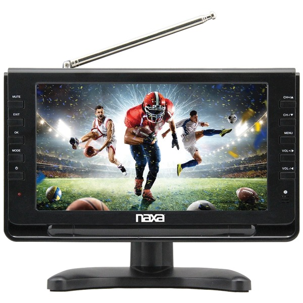 """Naxa NT-110 10"""" Portable TV & Digital Multimedia Player with Car Package"""