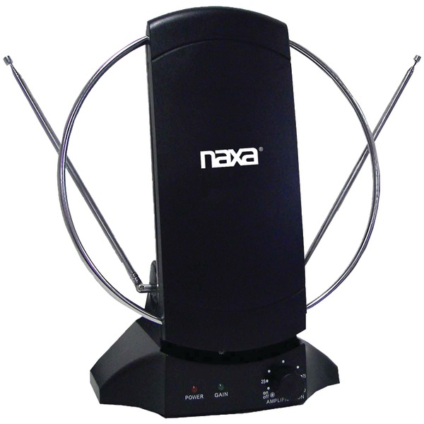 Naxa NAA-308 High-Powered Amplified ATSC/HDTV/FM Antenna