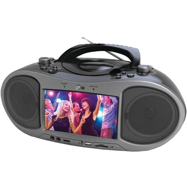 "Naxa NDL-256 7"" Bluetooth DVD Player"