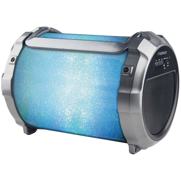 Naxa NAS-3088 BOOMER IMPULSE FLASHER Bluetooth LED Boom Box