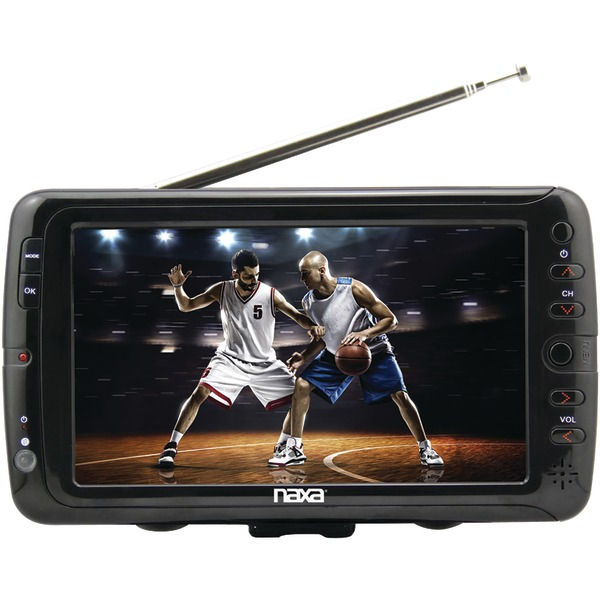 NAXA NT70 PORTABLE 7 INCH TV AND DIGITAL MULTIMEDIA PLAYER