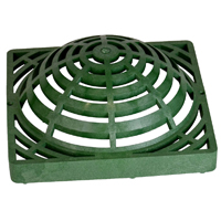 GRATE ATRIUM GREEN 12X12IN