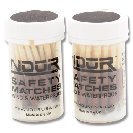 NDuR Safety Matches, 2pk, Clear