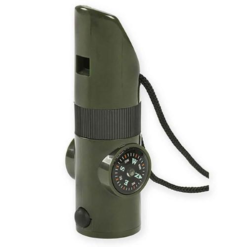 NDuR 7-In-1 Survival Whistle, Orange