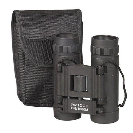 NDuR Compact Binoculars, 8 X 21, Black