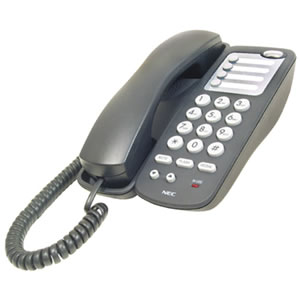 BE110936  Single-line phone Black
