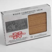 Nelson WC8/32/15/50 Composite Shim, 7-1/2 in L x 1-1/2 in W, Wood