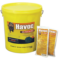 Havoc Hacco 116372 Mouse Killer, Pack, Pellet, Green, Faint Grain Like