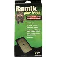 Ramik 116230 Non-Toxic Pre-Baited Ready-To-Use Glue Trap, Plastic