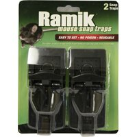 Ramik 116221 One-Touch Small Snap Trap, Plastic