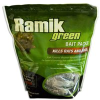 Ramik Hacco 116341 Mouse Killer, 4 oz, Pouch, Green