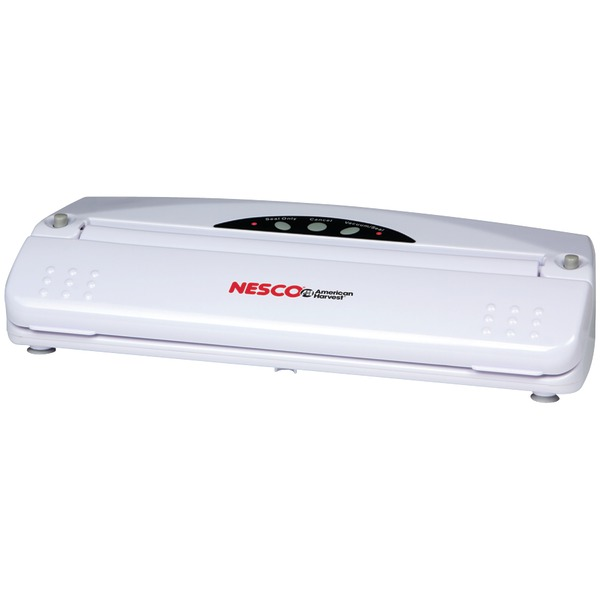 Nesco VS-01 Vacuum Sealer (110-Watt; White)