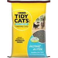 Tidy Cats 7023010770 Instant Action Convenetianion Cat Litter, 20 lb Dura Weave Bag, Tan/Grey