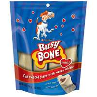 Nestle Purina 3810012892 Busy Bone Mini Dog Treats, 6.5 Oz