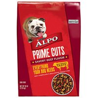 Alpo Prime Cuts 1113214544 Dry Dog Food, 16 lb, Savory Beef