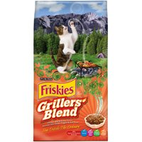 Nestle Purina 5000046179 Friskies Grillers Blend Cat Food, Dry, 3.15 Lb