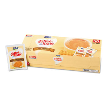 Non-Dairy Powdered Creamer, Original, 3 g Packet, 50/Box, 20 Box/Carton
