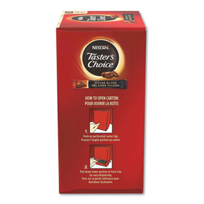 Taster's Choice Stick Pack, House Blend, .06 oz, 480/Carton