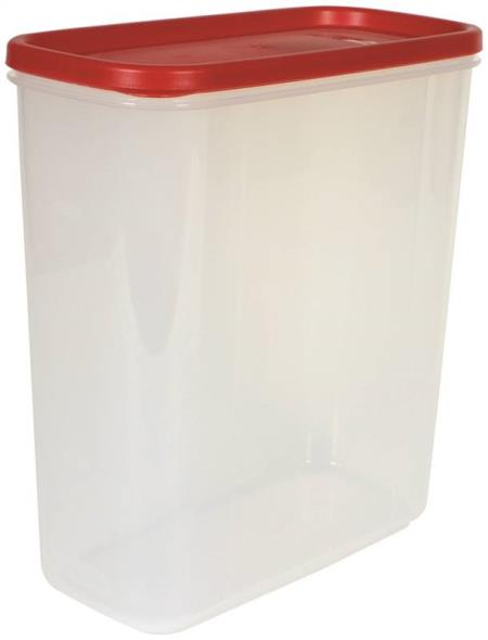 Rubbermaid 1776473 Durable Square Dry Food Storage Canister, 21 Cup, 16.52 in L X 16-1/2 in W