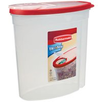 Flex & Seal 1777195 Cereal Container, 1.5 gal, 5.78 in L X 11.34 in W X 11.18 in H, Plastic