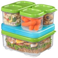 Lunch Box 1806231 Sandwich Kit Box, Plastic, Clear