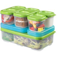 LunchBlox 1806233 Lunch Box Entree Kit, Green