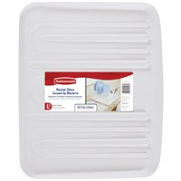 Rubbermaid 1182MAWHT Large Drain Board Tray, 19-1/4 in L x 15-1/4 in W, Plastic, White