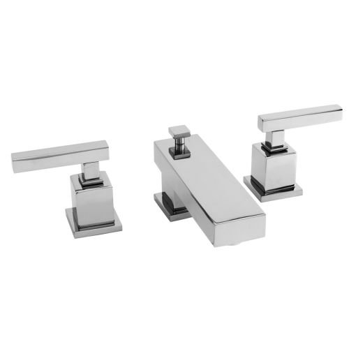1.2 GPM Widespread Lavatory Faucet, Polished Chrome